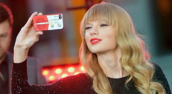 Taylor Swift entre as pessoas mais seguidas no instagram