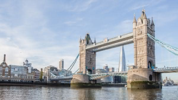 Tower Bridge entre as pontes mais famosas do mundo