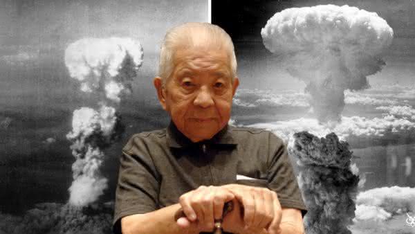 Tsutomu Yamaguchi entre as pessoas mais sortudas do mundo