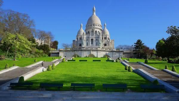 basilica do sagrado coracao entre as atracoes turisticas mais populares na Franca