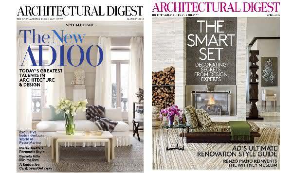 Architectural Digest entre as revistas mais caras do mundo