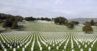 Cemiterio Nacional de Arlington entre os maiores cemiterios do mundo