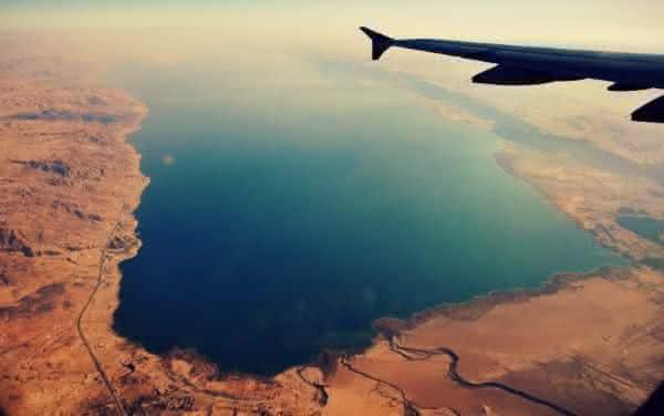 Mar Morto entre os pontos de terra mais baixos do mundo