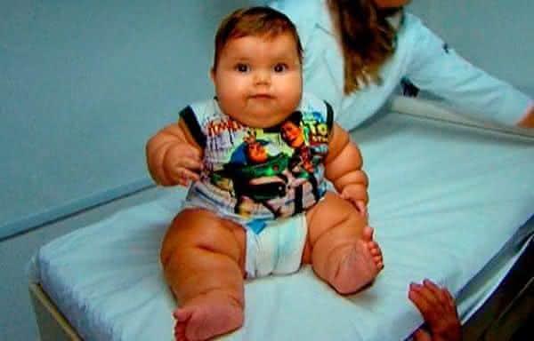 Moacir Matheus Colaco 2 entre os maiores bebes recem-nascidos do mundo