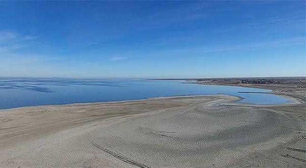 Salton Sea entre os pontos de terra mais baixos do mundo