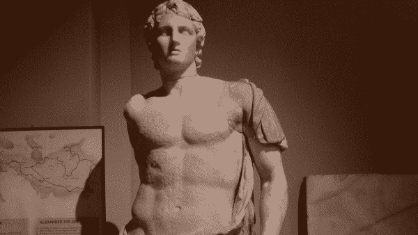 Alexandre o Grande entre os maiores influenciadores da historia