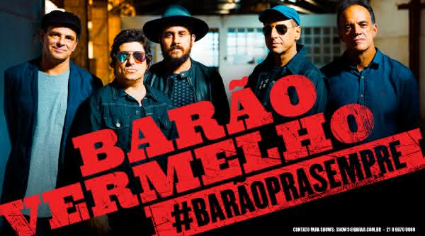 Barao Vermelho entre as maiores bandas de rock brasileiras da historia