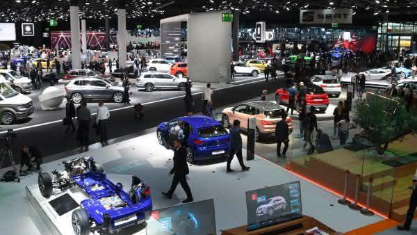 Frankfurt Auto Show entre as maiores feiras de automoveis do mundo