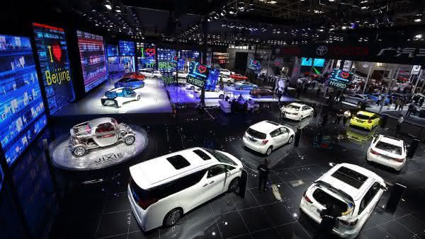 The Beijing International Automotive Exhibition entre as maiores feiras de automoveis do mundo