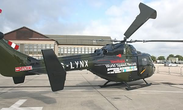 Westland Lynx ZB500 entre as coisas mais rapidas do mundo
