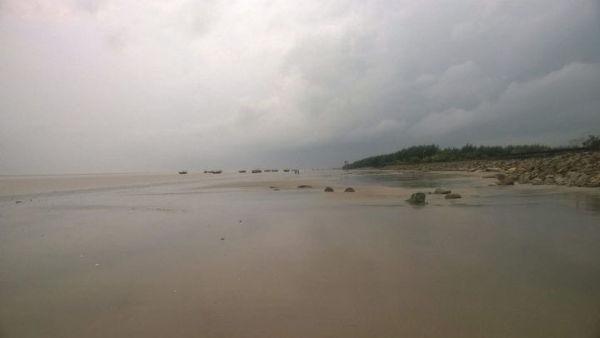praia Chandipur entre as praias mais bizarras do mundo
