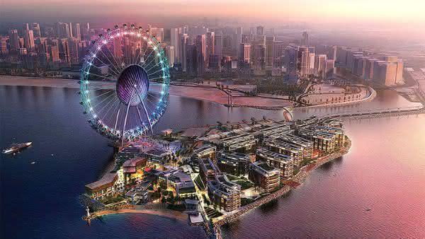 Dubai Eye entre as maiores rodas-gigantes do mundo
