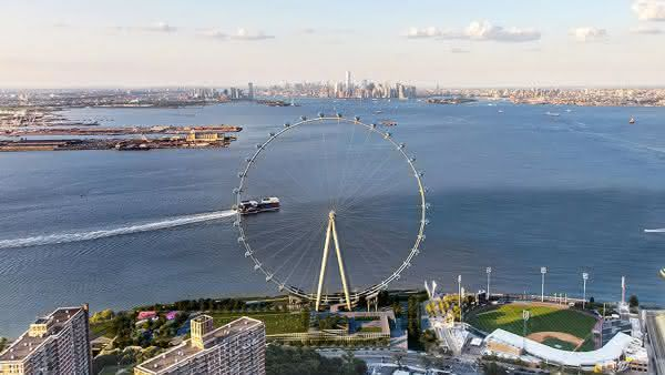 New York Wheel entre as maiores rodas-gigantes do mundo