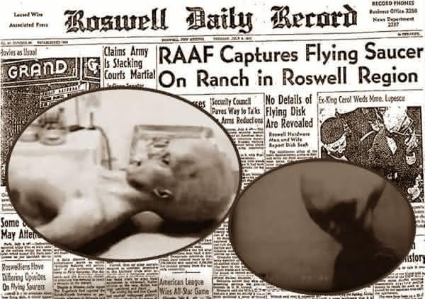 Roswell entre os avistamentos de OVNIs mais crediveis no mundo