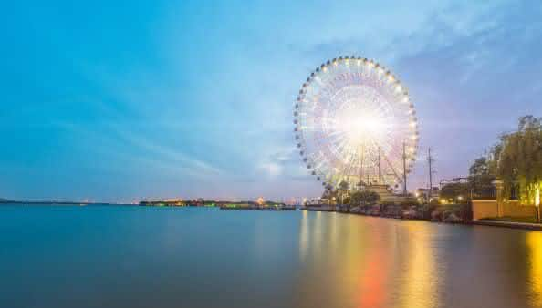 Suzhou Ferris Wheel entre as maiores roda-gigantes do mundo