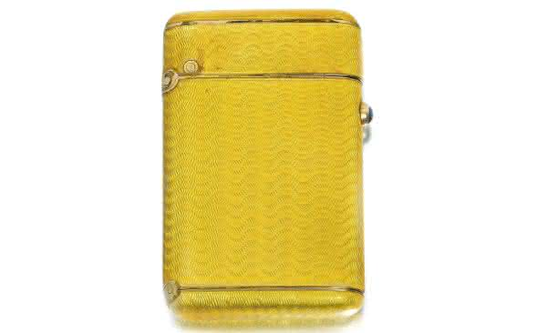 Faberge Yellow Enamel entre os isqueiros mais caros do mundo