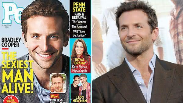 Bradley Cooper entre os homens mais sexy dos ultimos 10 anos