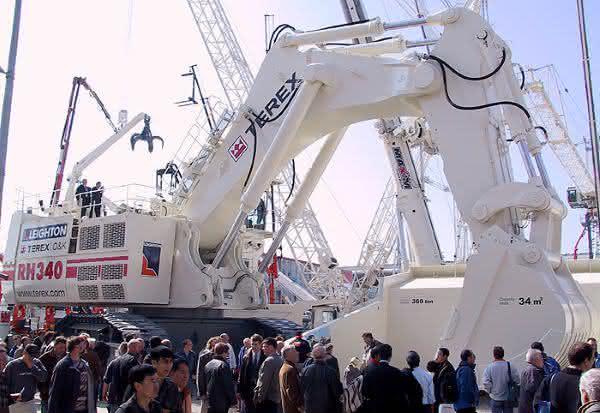 Bucyrus RH 340 entre as maiores escavadeiras do mundo