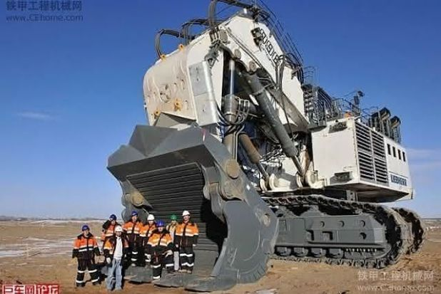 Bucyrus RH400 entre as maiores escavadeiras do mundo