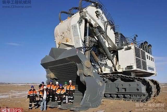 Bucyrus RH400 entre as maiores escavadeiras do mundo
