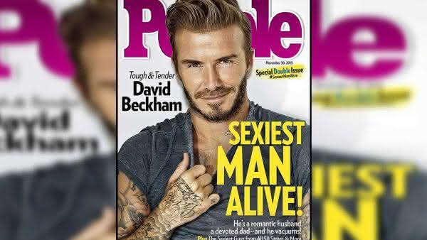 David Beckham entre os homens mais sexy dos ultimos 10 anos