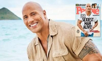 Dwayne Johnson entre os homens mais sexy dos ultimos 10 anos