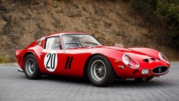 Ferrari 250 GTO entre os carros ferrari mais caras ja construidas