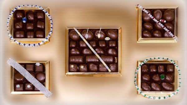 Le Chocolat Box by Simon Jewelers entre os chocoloates mais caros do mundo