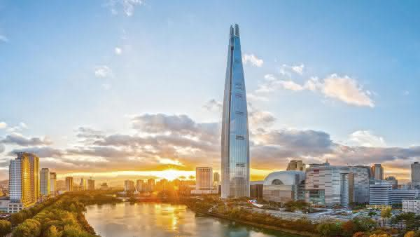 Lotte World Tower entre os predios mais altos do mundo