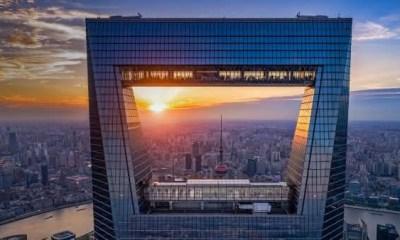 Shanghai World Financial Center 2 entre os edificios mais altos do mundo
