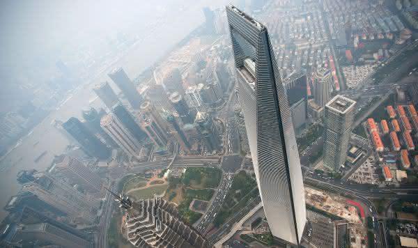 Shanghai World Financial Center entre os edificios mais altos do mundo