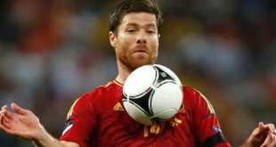 Xabi Alonso entre os melhores jogadores espanhois de todos os tempos