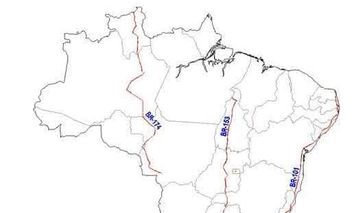 BR-174 entre as maiores rodovias do brasil