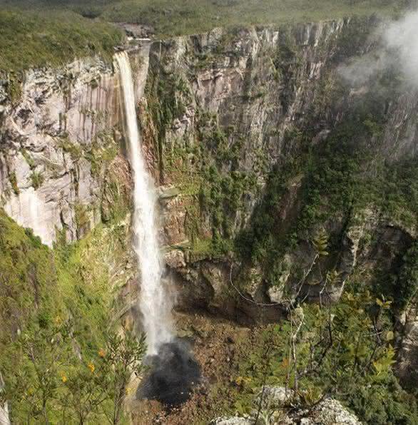 Cachoeira do El Dorado entre as cachoeiras mais altas do brasil