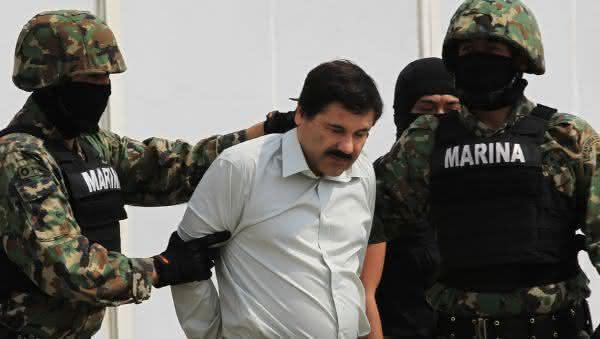 El Chapo entre os maiores traficantes de drogas de todos os tempos