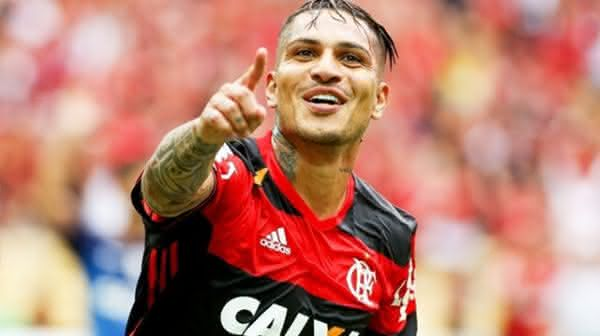 Paolo Guerrero entre os jogadores mais bem pagos do brasil