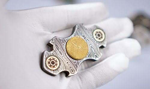 Weiheng Customized Steel Fidget Spinner entre os spinners mais caros do mundo