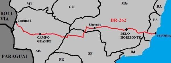 br262 entre as maiores estradas do brasil