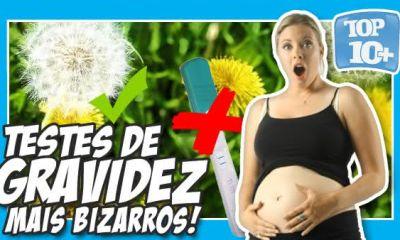 testes de gravidez mais bizarros