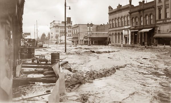 Yangtze 1911 entre as maiores inundacoes da historia