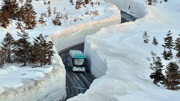 Aomori entre as cidades com mais neve do mundo