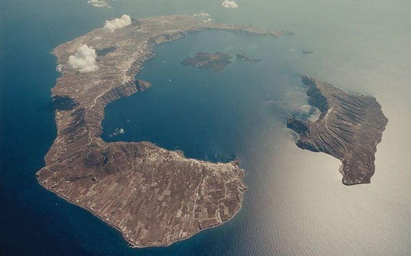 Mount Thera entre as maiores erupcoes vulcanicas da historia