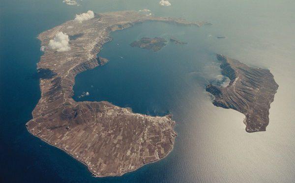 Mount Thera entre as maiores erupcoes vulcanicas da historia
