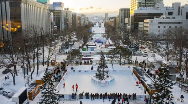 Sapporo entre as cidades com mais neve do mundo