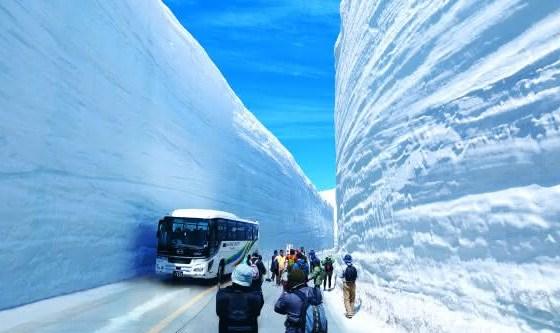 Toyama entre as cidades com mais neve do mundo