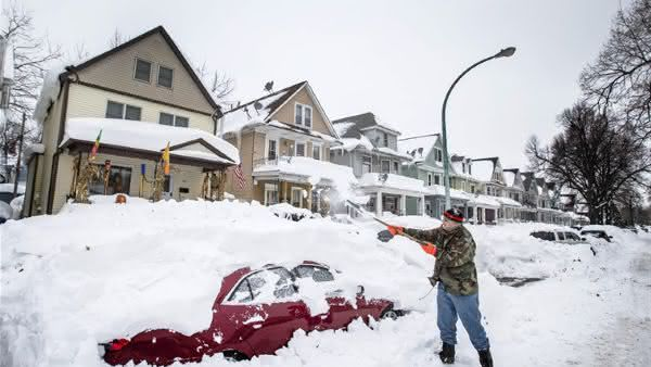 buffalo entre as cidades mais nevadas do mundo