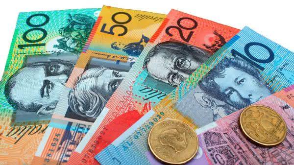 dolar autraliano entre as moedas mais usadas no mundo