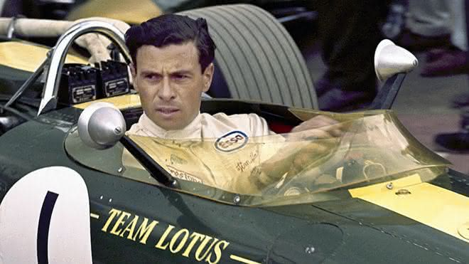 Jim Clark entre os pilotos