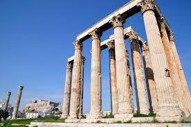 Templo de Zeus Olímpico principales atracciones turísticas en Atenas