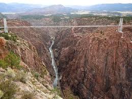El Royal Gorge Bridge - Colorado Puentes Más Peligrosos del Mundo